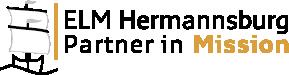 Logo mit Segelschiff ELM Hermannsburg Partner in Misson